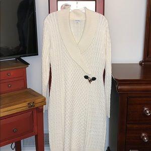 Calvin Klein sweater dress NWOT